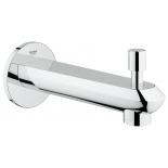 излив для ванны Grohe 13279002 Eurodisc Cosmopolitan, настенный с переключателем ванна/душ, хром