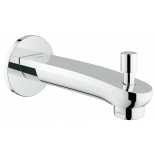 излив для ванны Grohe 13277002 Eurostyle Cosmopolitan, настенный с переключателем ванна/душ, хром