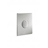 панель слива для унитаза Grohe 38445SD0 Skate (1 режим смыва), нержавеющая сталь (38445SD0)