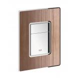панель слива для унитаза Grohe 38849HP0 Skate Cosmopolitan Wood (3 режима смыва), орех (38849HP0)