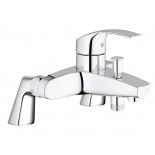 смеситель для ванны Grohe 33303002 Eurosmart New с вертикальными подключениями, хром (33303002)