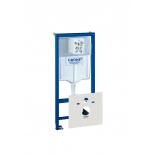система инсталляции для унитаза Grohe 38539001 Rapid SL (1,13 м) с принадлежностями для монтажа перед стеной (38539001)