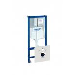 система инсталляции для унитаза Grohe 38827000 Rapid SL с панелью смыва (3 режима), комплект 5-в-1 (1,13 м) (38827000)