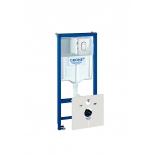 система инсталляции для унитаза Grohe 38929000 Rapid SL с панелью смыва Arena Cosmopolitan (3 режима) (1,13 м) (38929000)
