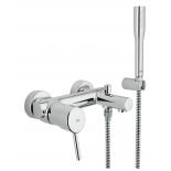 смеситель для ванны Grohe 32212001 Concetto с душевым гарнитуром, хром
