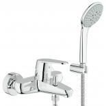 смеситель для ванны Grohe 33395002 Eurodisc Cosmopolitan с душевым гарнитуром, хром