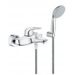 смеситель для ванны Grohe 33592003 Eurostyle new с душевым набором, хром (33592003)