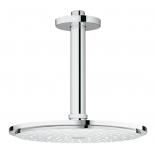 верхний душ с кронштейном Grohe 26053000 Rainshower Cosmopolitan Metal, диаметр 210 мм, потолочный кронштейн, хром