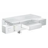 термостат для ванны Grohe 34502000 Grohtherm Cube с полочкой, хром
