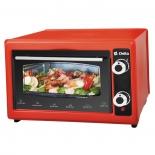 мини-печь, ростер Delta D-022 37л, красная (рестайлинг)