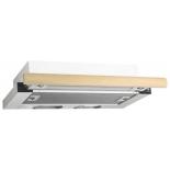 вытяжка кухонная Elikor Интегра 60П-400-В2Л белая/дуб крем