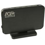 корпус жесткого диска внешний корпус для HDD AgeStar 3UB3A8-6G USB3.0 черная
