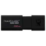 usb-флешка Kingston DataTraveler 100 G3 32GB чёрная