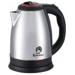 чайник электрический Василиса Т30-2000 нержавеющая сталь/чёрный с красным