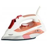 Утюг LUX DL-151, белый с розовым