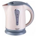 чайник электрический Delta LUX DL-1008, бежевый с серым