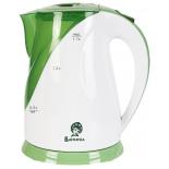 чайник электрический Василиса Т5-2200, белый с зеленым