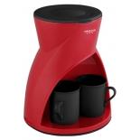 кофеварка Delta Lux DL-8131, красная