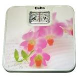 Напольные весы Delta D9011-Н11, розовые цветы