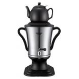 чайник электрический Delta Самовар электрический LUX DL-3015 black/stainless steel