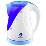 чайник электрический Василиса Т5-2200, белый с синим