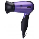 Фен / прибор для укладки Василиса ФН2-1400, черный с фиолетовым