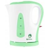 чайник электрический Василиса T19-1200, белый с зеленым