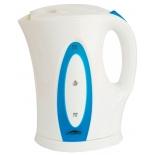 чайник электрический Эльбрус-4, белый с синим