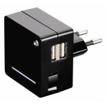 зарядное устройство Hama Opal, 00124557, универсальное, черное