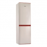 холодильник Pozis RK FNF-170, белый с рубиновыми накладками