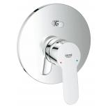 смеситель для ванны Grohe 29079000 BauEdge (со встраиваемым механизмом), хром