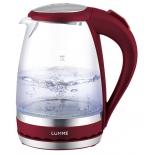 чайник электрический Lumme LU-220, красный гранат