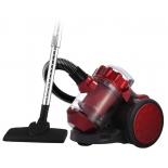 Пылесос Lumme LU-3206, черный/красный