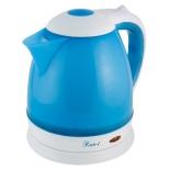 чайник электрический Великие реки Кип-1, синий/белый