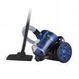 Пылесос Home Element HE-VC1801, чернo-синий