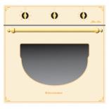 Духовой шкаф Electronicsdeluxe 6006.03эшв-001, бежевый