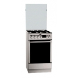плита AEG 47635G9-MN, серебристая