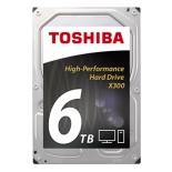 жесткий диск HDD 6 Tb SATA 6Gb/s Toshiba X300 3.5