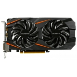 видеокарта GeForce GIGABYTE GeForce GTX 1060 1582Mhz PCI-E 3.0 3072Mb 8008Mhz