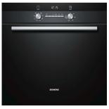 Духовой шкаф Siemens HB43GR655, черный