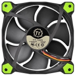 кулер Thermaltake Riing 12 LED+LNC (120mm), зеленый