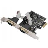 контроллер (плата расширения для ПК) Orient XWT-PE2S (2x COM, PCI-e)