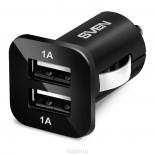зарядное устройство Sven USB Car Charger C-103, черное