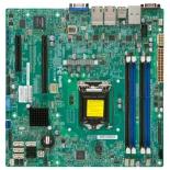 материнская плата Supermicro MBD-X10SLM+-F-O (Intel C224/1xLGA1150/4xDDR3 DIMM/microATX/USB 3.0)