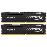 модуль памяти DDR4 32Gb 2400MHz, Kingston 2*16Gb HyperX Fury HX424C15FBK2/32