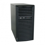 корпус SUPERMICRO,TOWER 300W MATX(CSE-731I-300B)черный