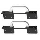 серверный аксессуар Rackmount kit Сhenbro 84H210510-004 (2x handles w/ ears, для SR105 / SR209 / SR112)