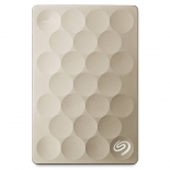 жесткий диск Seagate Backup Plus Ultra Slim Gold 1 Тб (USB3.0, 5400rpm, 16Mb, 2.5