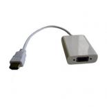 кабель / переходник VCOM HDMI(M) - VGA(F) 0,2m [CG558]
