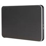 жесткий диск Toshiba Canvio Premium 1TB (HDTW110EB3AA), серый
